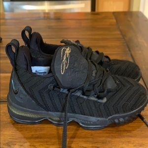 Boys Lebrons Nike size 12c boys